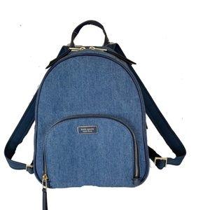 Kate Spade New York Dawn Denim Medium Backpack